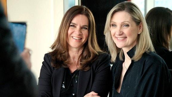 Katarina Witt mit Choreografin Andra Bezic