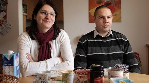 Jenny und Karsten Huth leben aus beruflichen Gründen in der Nähe von München.