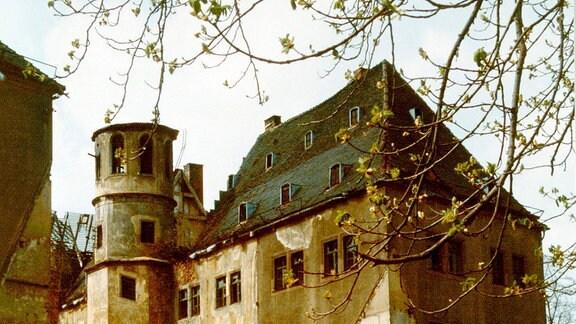 Schloss Osterstein damals In den 1980er-Jahren