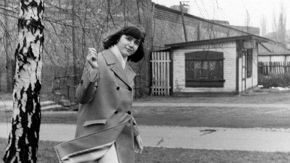 Als Teenie entdeckt Gabriele Denecke die Welt zwischen Weißensee und Boltenhagen, 1964.