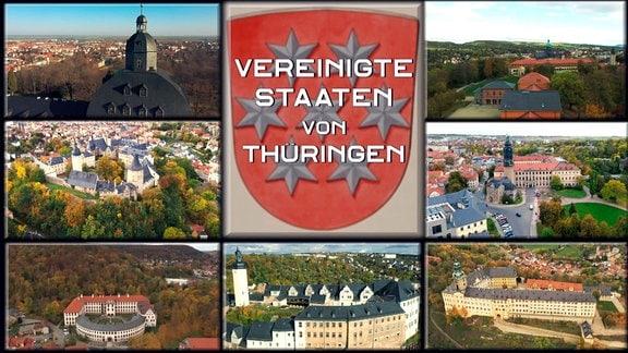 1920 schlossen sich sieben freie Kleinstaaten zum Land Thüringen zusammen.