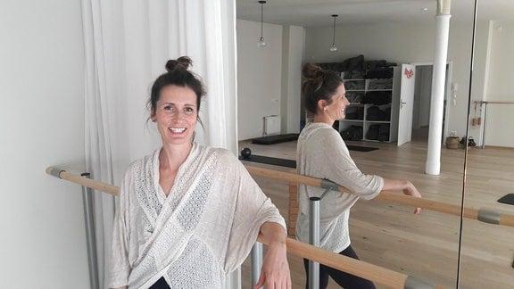 Henriette Bruder-Wood bringt Sporttrends aus den USA mit nach Leipzig.