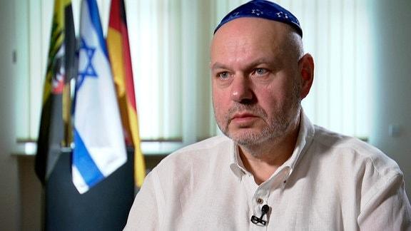 Max Privorozki - der Vorsteher der jüdischen Gemeinde in Halle.