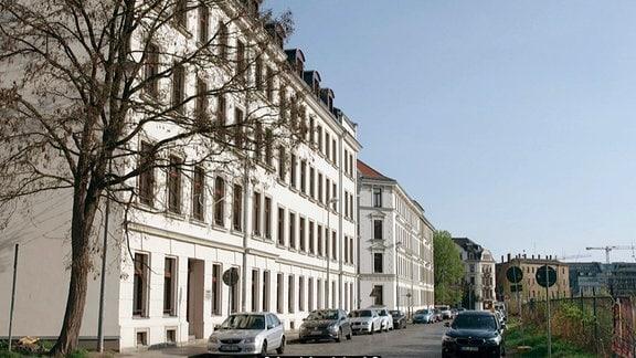 Geburtshaus in Leipzig, saniert