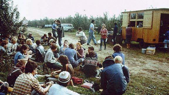 Dürrweitzschen Erntelager (80er)
