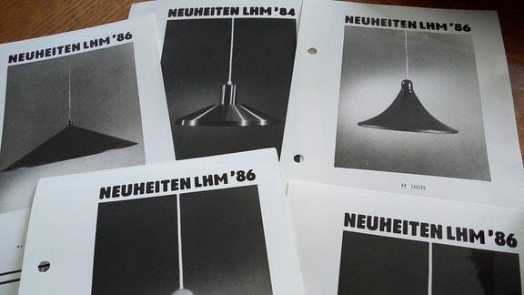 Katalog der Messe-Neuheiten des VEB Metalldrücker Halle