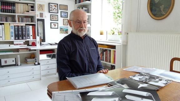 Gerd-Heinz Laitko - Ehemaliger Chefdesigner VEB Metalldrücker Halle