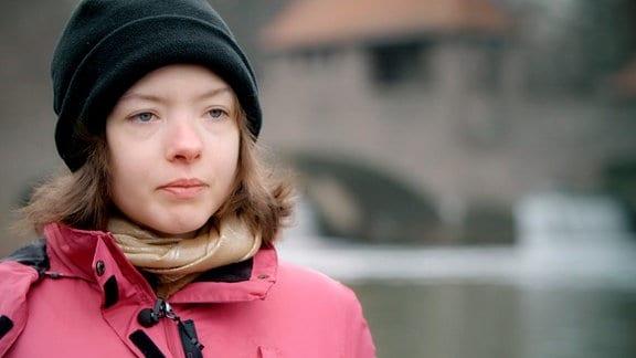 Nora Müller, sie leidet seit über zehn Jahren an Magersucht.