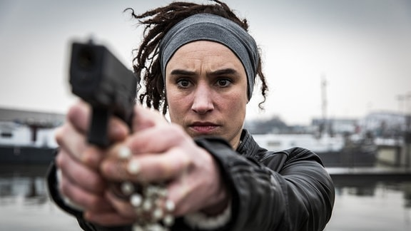 Fest entschlossen: die Polizistin Liz (Leen Roels).