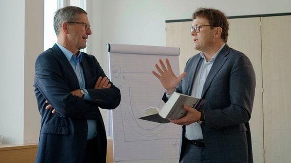 Prof. Timo Meynhardt und Prof. Michael Kaschke