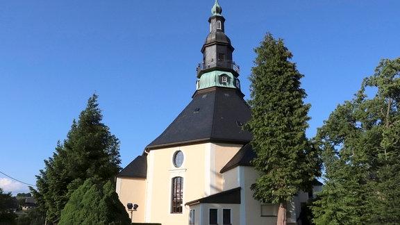 Die Seiffener Bergkirche ist das Vorbild für einen neuen Baukasten.