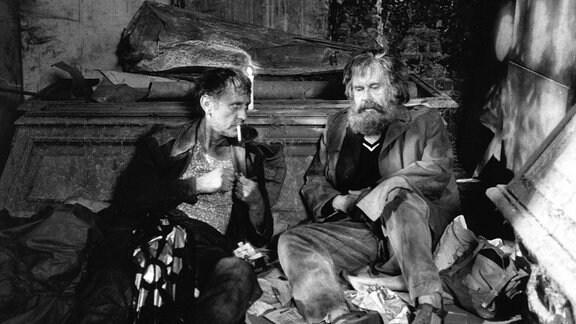 Manfred Günther (l.) und Hans Helmut Dickow.