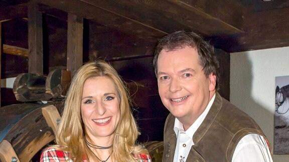 Stefanie Hertel & Arnulf Prasch (Archivbild)