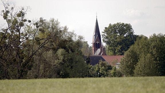 Das Dorf Glambeck im Löwenberger Land