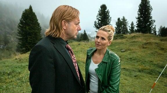 Zwischen Piet (Heino Ferch) und Veronika (Tanja Wedhorn) kommt es zur Aussprache.