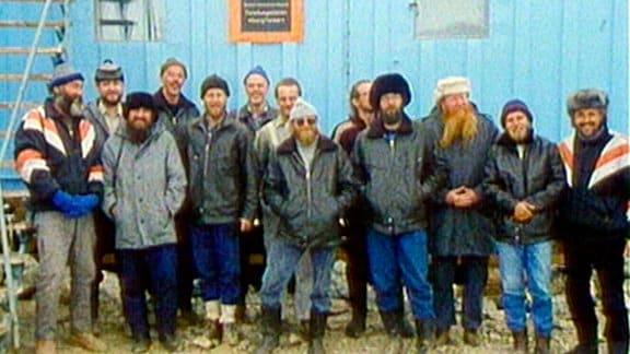 DDR-Wissenschaftler auf Antarktisexpedition in den Umbruchsjahren der Wende