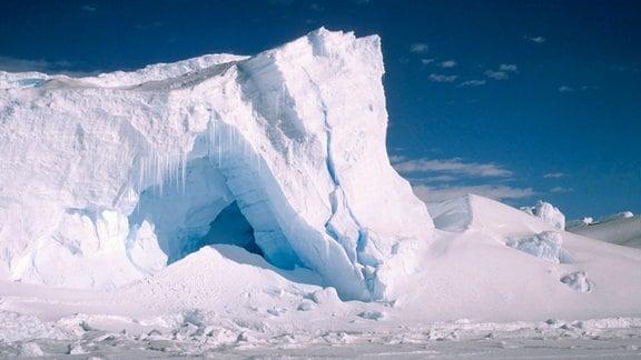 Im Eis der Antarktis