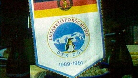 Polarforscher der DDR-Forschungsstation Georg Forster im Herbst 1989