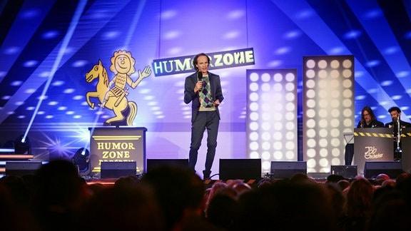 Humorzone-Gala mit Schirmherr und Moderator Olaf Schubert