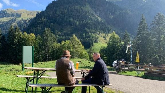 Axel Bulthaupt im Allgäu