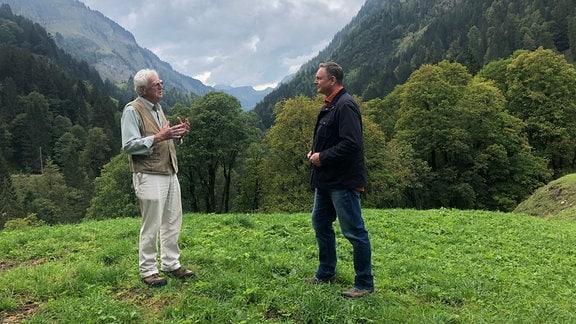 Manfred Kurrle und Axel Bulthaupt