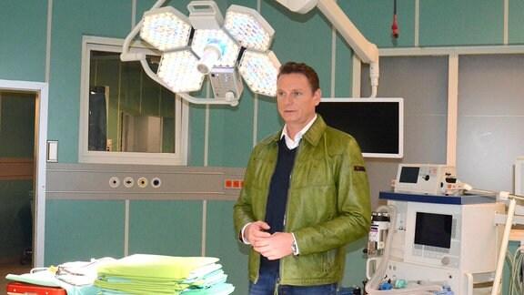 Axel Bulthaupt hinter den Kulissen