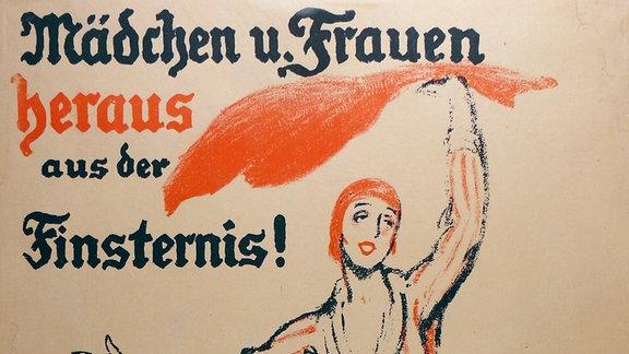 Aufruf an die Frauen zur Wahl am 19. Januar 1919