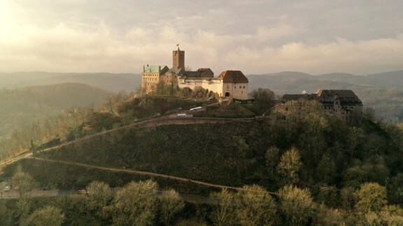 Am 4. Mai 1521 kam Martin Luther auf der Wartburg an.