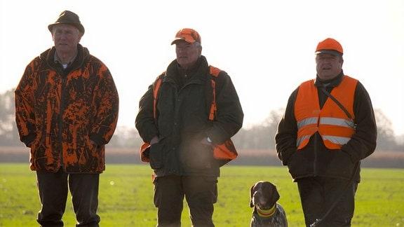 Schinne bläst zum Halali – Jagdsaison