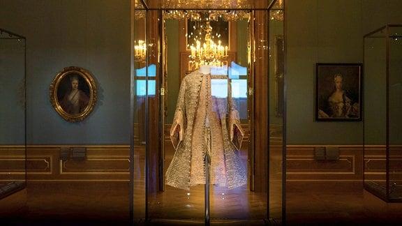 Die eindrucksvoll rekonstruierten Paraderäume im Dresdner Residenzschloss sind ein lebendiger Spiegel der Persönlichkeit Augusts des Starken