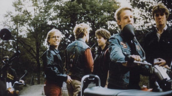 Motorrad-Truppe
