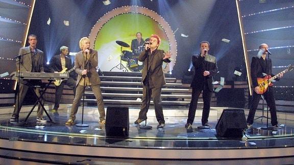 (v.l.n.r.) Jens Sembdner, Tobias Kuenzel, Sebastian Krumbiegel, Henri Schmidt, Wolfgang Lenk.