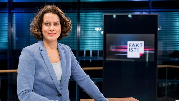Moderatorin Anja Heyde