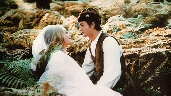 Prinz Bajaja (Ivan Paluch) und Prinzessin Slavena (Magda Vasaryova)