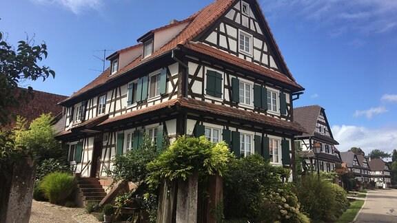 Fachwerkhaus in Seebach, Nordelsass