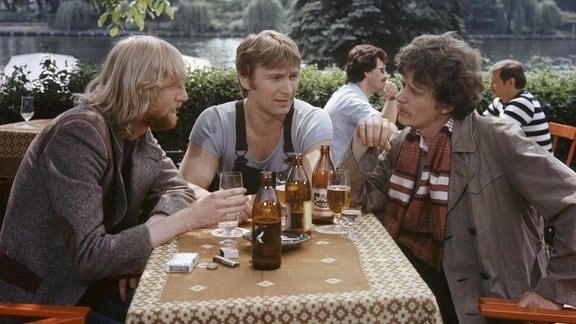 V.l.n.r.: Ghandi (Marian Wolf), Ali (Burkhard Behnke) und Fetzer (Ralf Kober)