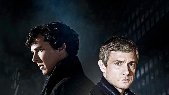 Neutrale Motive: Sherlock Holmes (Benedigt Cumberbatch) und sein Freund John Watson (Martin Freeman).