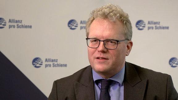"""Dirk Flege ist Geschäftsführer von """"Allianz pro Schiene"""""""