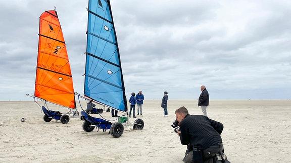 Sandkiter / Strand Borkum