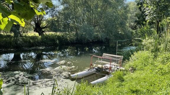 Nägelstedt ist das Tor zum Unstruttal. Sowohl auf dem Wasser als auch auf dem Radwanderweg kann man die Idylle durchqueren.