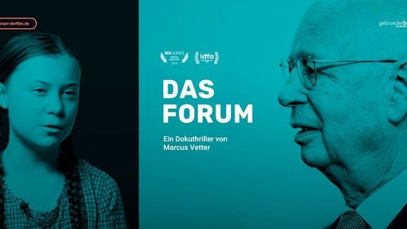 DAS FORUM mit Prof. Klaus Schwab und Greta Thunberg.