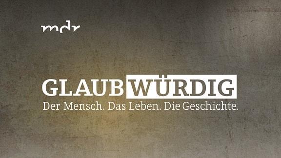 Glaubwürdig - Logo