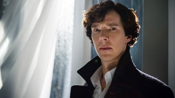 Sherlock Holmes (Benedict Cumberbatch) kämpft gegen einen ebenbürtigen Gegner.