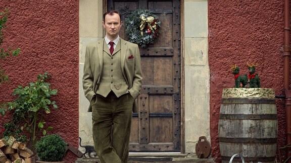 Mycroft Holmes (Mark Gatiss) arbeitet für den britischen Geheimdienst.