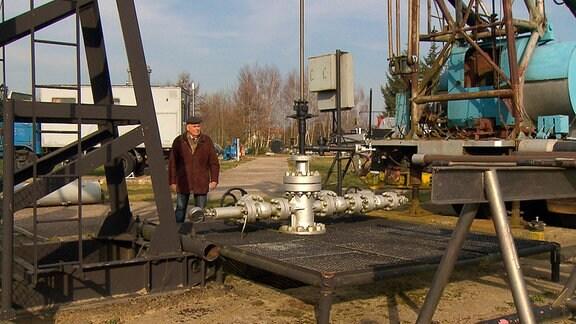 Dieter Landes - VEB Erdöl Erdgas Grimmen