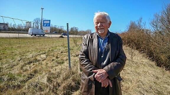 Erhard Beuelcke, auf Spurensuche am verschwundenen Rasthof Börde