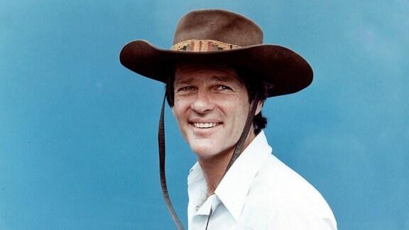 Dean Reed auf einerm Foto von 1986