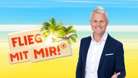 """Guido Cantz im neuen Reisequiz """"Flieg mit mir!"""" ."""