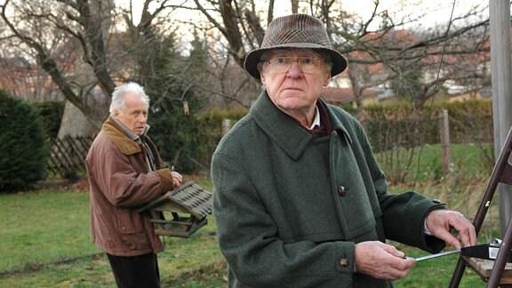 Rudi (Horst Westphal, l.) und Egbert (Carl Heinz Choynski, r.) sind schon ein eigenartiges Paar!