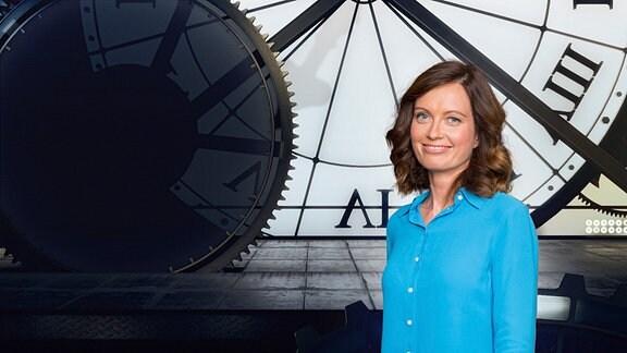 Zeitreise-Moderatorin Janett Eger